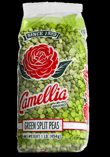 Camellia Green Split Peas 1 Lb.