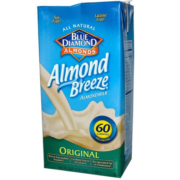 Blue Diamond Almond Breeze Milk Original 1QT/32 oz 07158/19004