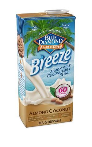 Blue Diamond Almond Breeze Milk Coconut 1 QT/ 32 oz 08974/19007