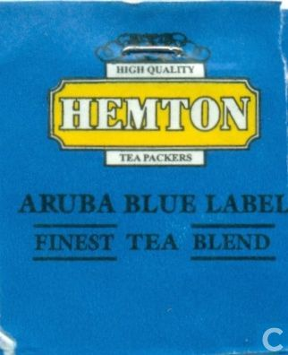 Hemton Aruba Blue Label Black Tea Blend (Pack of 100 envelopes)