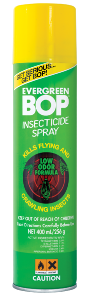 BOP Insecticide Spray Evergreen