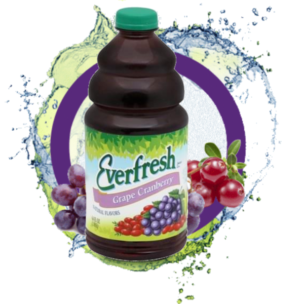 Everfresh Grape Cranberry Juice 64oz