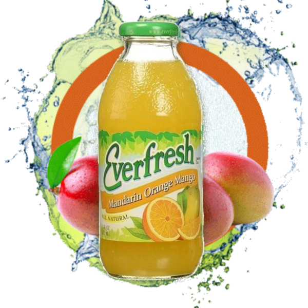 Everfresh Mandarin Mango Orange Juice 16 oz.
