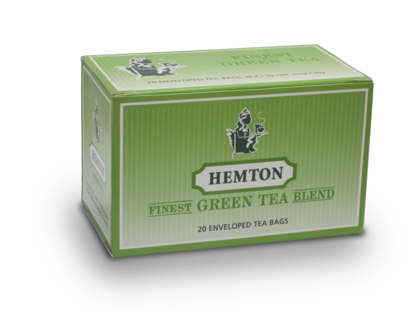 Hemton Green Tea Blend (Pack of 20 envelopes)