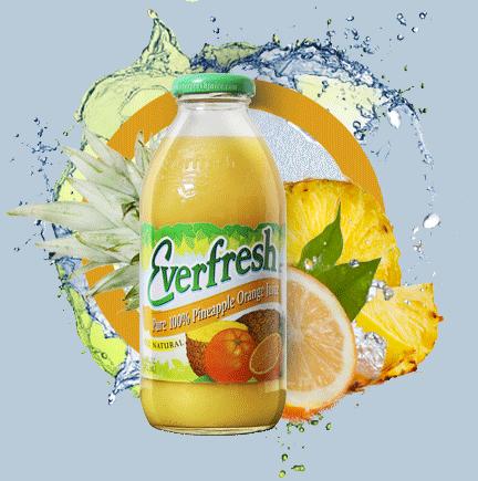 Everfresh Pineapple/Orange Juice 16oz