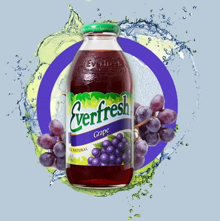 Everfresh Grape Juice 16oz