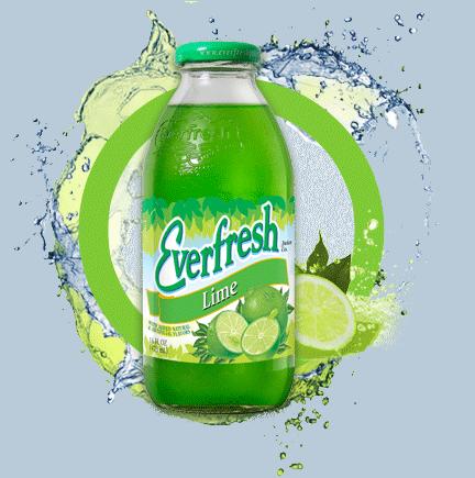 Everfresh Lime Juice 16 oz