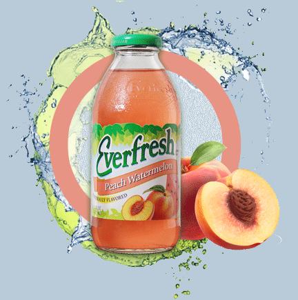 Everfresh Peach Watermelon Juice 16oz