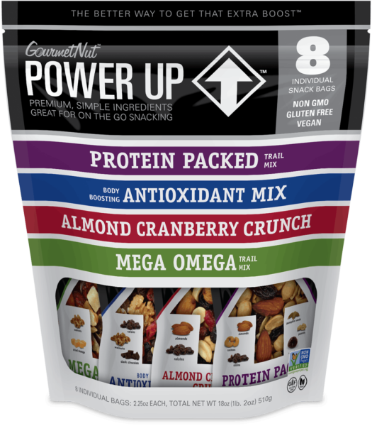 Gn Power Up Assorted 8-Pack (8X2.25Oz.) 18Oz.