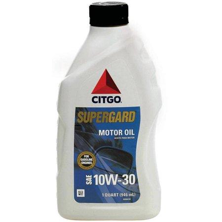 Citgo Supergard Motor Oil 10W30 1QT