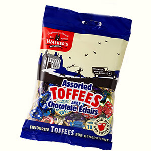 Walkers Assorted Royal Toffee bag (150 gr)