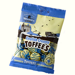 Walkers Old English Toffee bag (150 gr)