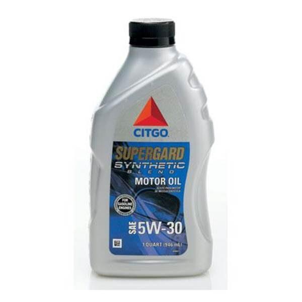 CITGO SUPERGARD Full Synthetic Motor Oil 5W30 1 QT