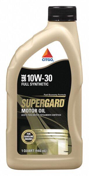 CITGO SUPERGARD Full Synthetic Motor Oil 10W30 1 QT
