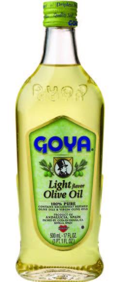 Goya Olive Oil Light 17Oz 1158
