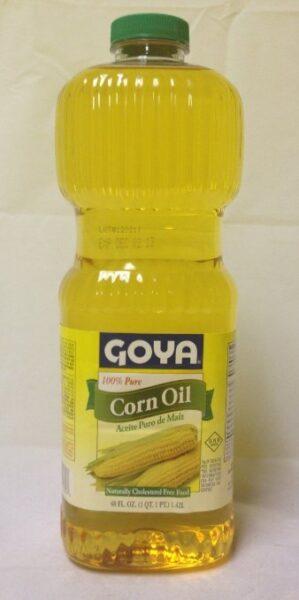 Goya Pure Corn Oil 96Oz. 1234
