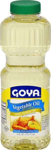 Goya Vegetable Oil 16Oz. 1235