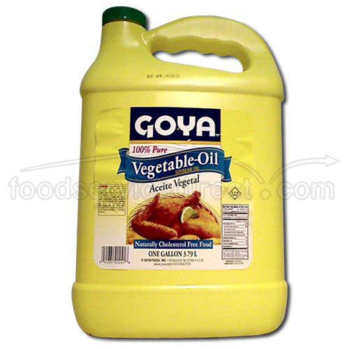 Goya Vegetable Oil 1Gal. 1241