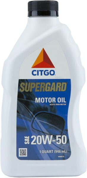 CITGO SUPERGARD Motor Oil 20W50  1 QT