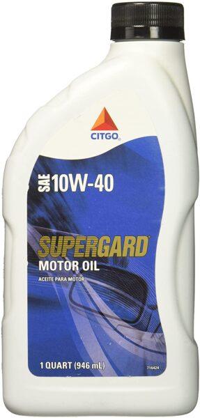 Citgo Supergard Motor Oil 10W40 1QT
