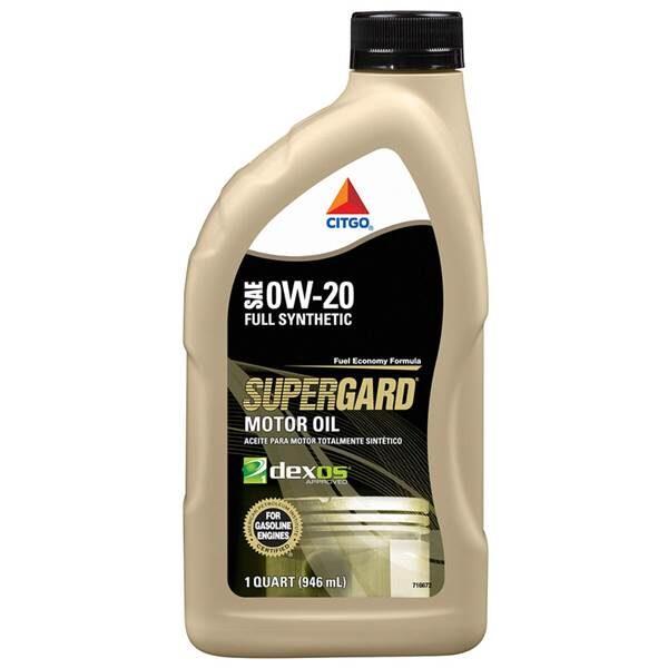CITGO SUPERGARD Full Synthetic Motor Oil 0W20 55 GALLONS