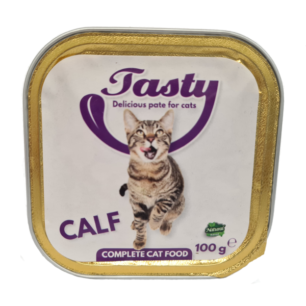 Tasty Cat Pate Calf 100 gr