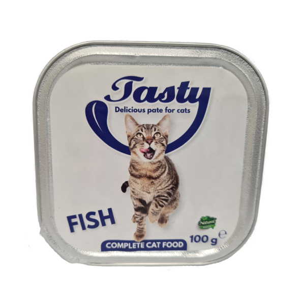Tasty Cat Pate Fish 100 gr