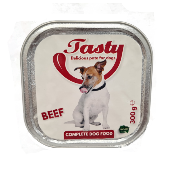 Tasty Dog Pate Beef 300 gr