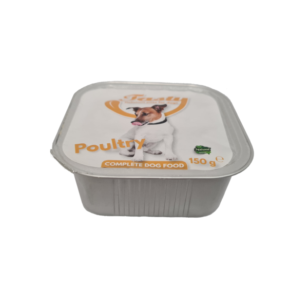 Tasty Dog Pate Poultry 150 gr