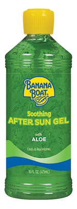 Banana Boat Soothing Aloe After Sun Gel 8 oz
