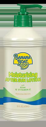 Banana Boat Moisturizing Aloe After Sun Lotion 16 oz
