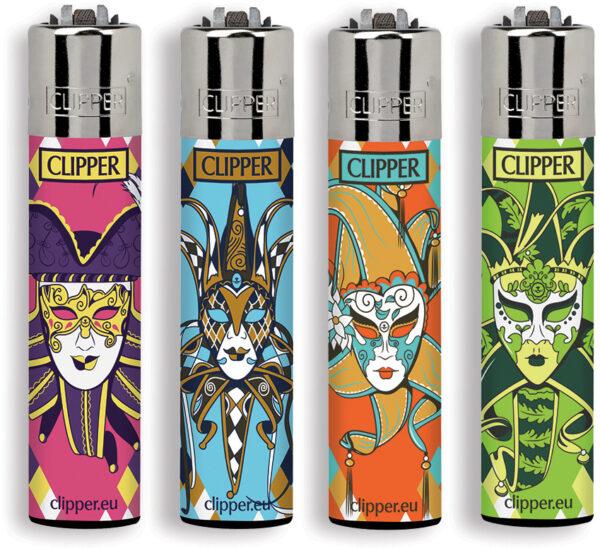Clipper Lighter CP 11 Carnival Mask