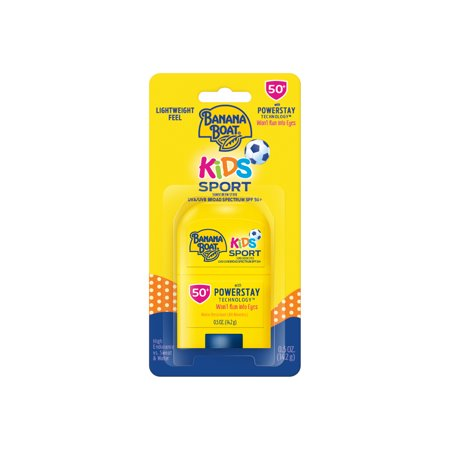 Banana Boat Kids Sport Sunscreen Stick SPF 50+, 0.5 oz