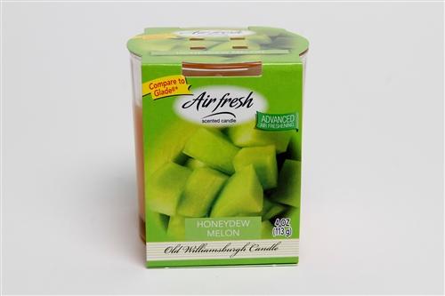 Air Fresh Honey Dew Melon 4oz Tumbler – By Old Williamsburgh Candles