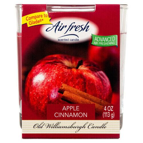 Air Fresh Apple Cinnamon 4oz Tumbler by Old Williamsburgh
